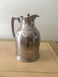 clear glass pitcher with lid 656 mi