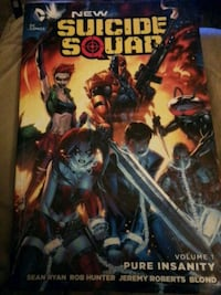 New suicide squad pure insanity graphic novel