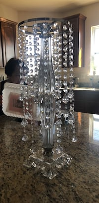 Clear glass base table lamp Leesburg, 20176