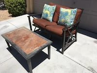 Patio chair and coffee table Las Vegas, 89169