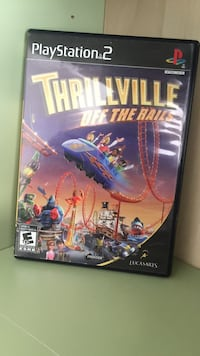 Thrillville off the rails Sony PS2 game case Surrey, V3Z