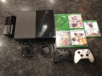 Xbox one console with controller and game cases Lorton, 22079
