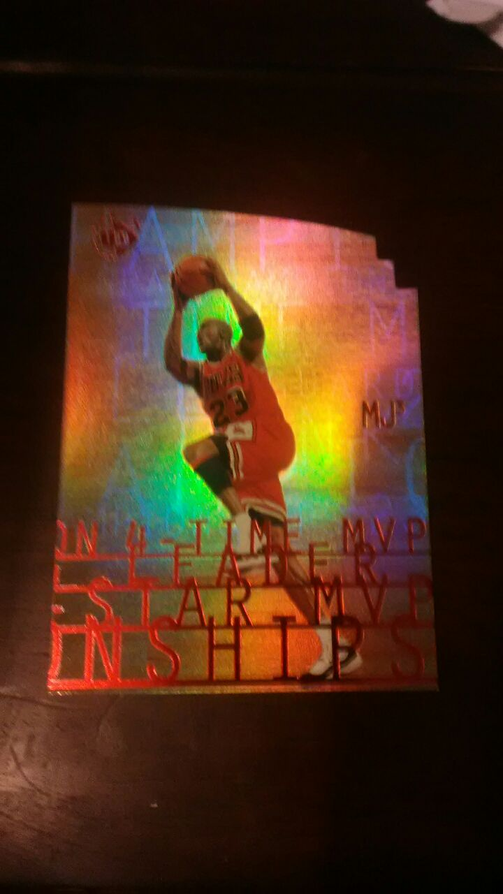 Photo Michael Jordan basketball card