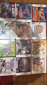3ds games rarely used Milton, L9T 6B1