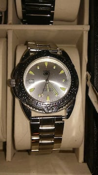 Beautiful new Fossil silver watch. Unisex. Albuquerque, 87106