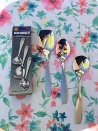 Royal prestige stainless steal cooking spoons  Sacramento, 95815
