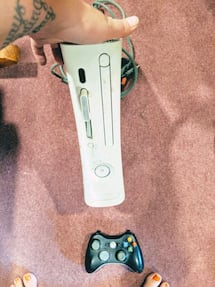 Xbox and controller
