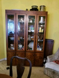 China cabinet with credenza  Washington, 20020