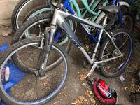 gray and blue full-suspension mountain bike San Jose, 95116