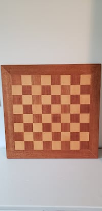 Wooden chess board Frederick