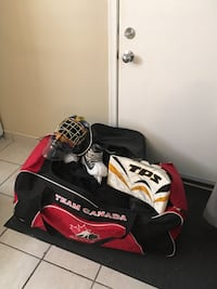 Full on Goalie Gear with bags