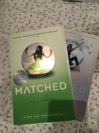 Matched & Crossed Series by Ally Condie Toronto, M2L 1B5
