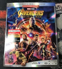 Avengers Infinity War Blu Ray Disc only Los Angeles, 90744