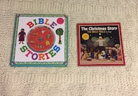 Lego brick Bible stories and book and cd set  687 mi