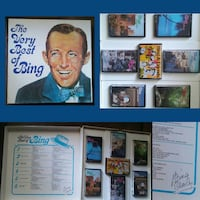 Bing Crosby cassette binder signed autograph Citrus Heights, 95610