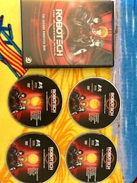 Robotech 4 DVD films   Movies / Like new collective series Alexandria, 22311