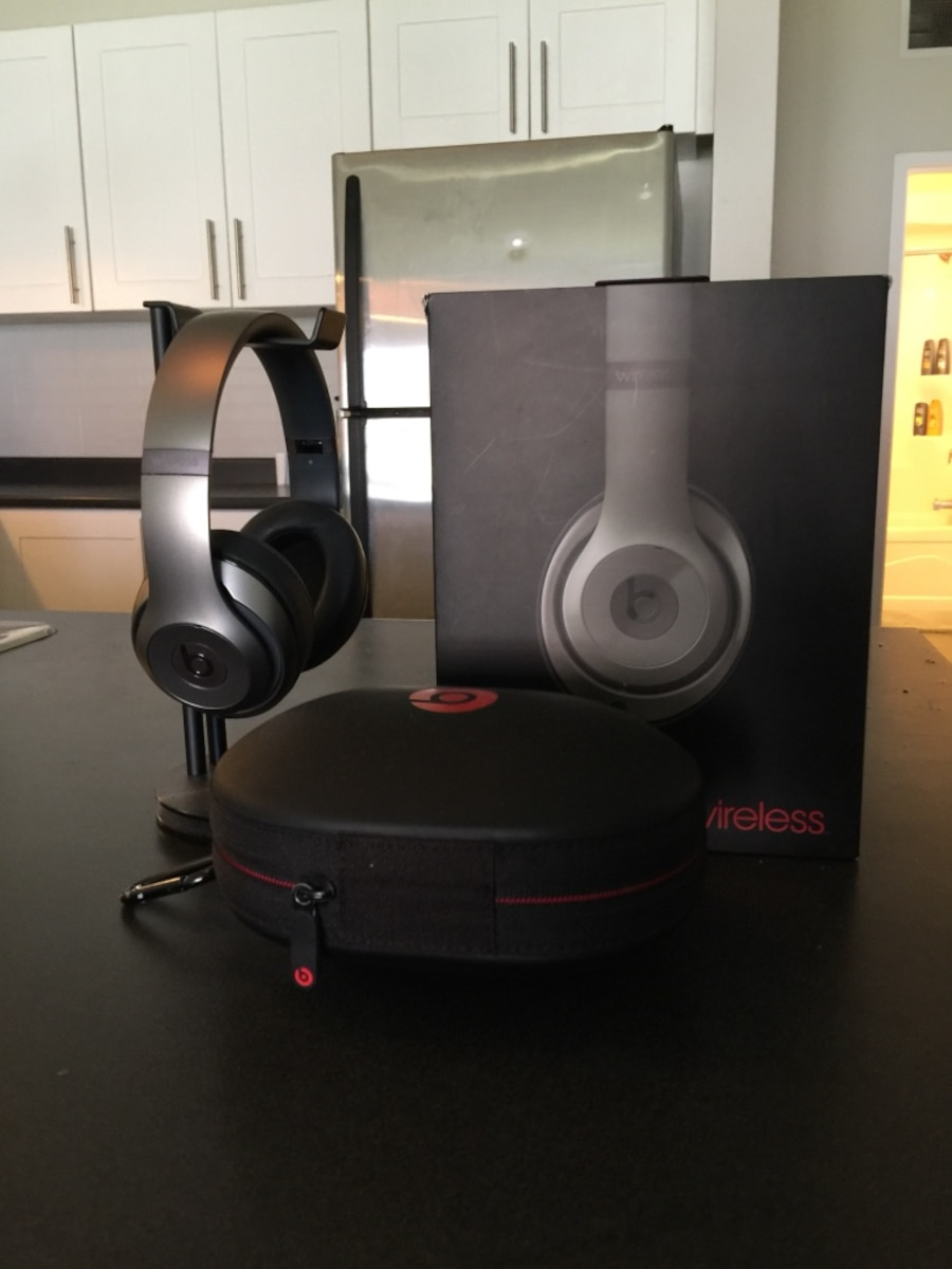 black Power Beats with case and box