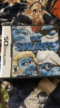 The Smurfs Nintendo DS game case