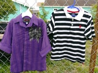 Boys polo shirt both for 2.50 Donna, 78537