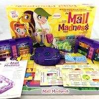 Mall Madness Board Game 2004 Talking Electronic Console Complete Some Box Wear Port Colborne