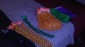 Multicolored big and small beads for any occasion