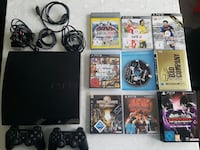 PS3 (120 GB ) mit 2 Controller Top Zustand