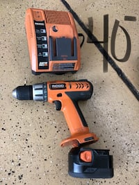 Ridgid 12v 3/8 drill. Add to your fleet of tools. Works Plainfield, 60585
