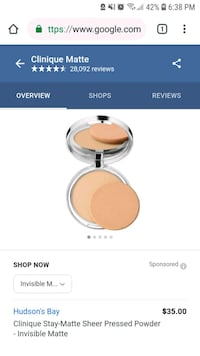 Clinique Stay Matte Sheer Pressed Powder Markham