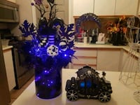 Halloween planter with lights  Whitby, L1N 8X2