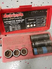 Metrinch wheelnut socket set Charles Town, 25414