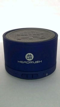 black and blue portable speaker Windsor, N8W