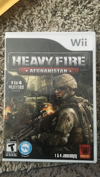 New sealed wii heavy fire Cottage Grove, 53527