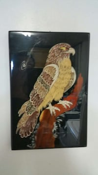 black yellow and brown hawk painting Derwood, 20855
