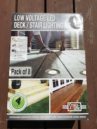 Low voltage LED deck lights Kelowna, V1X 6R3