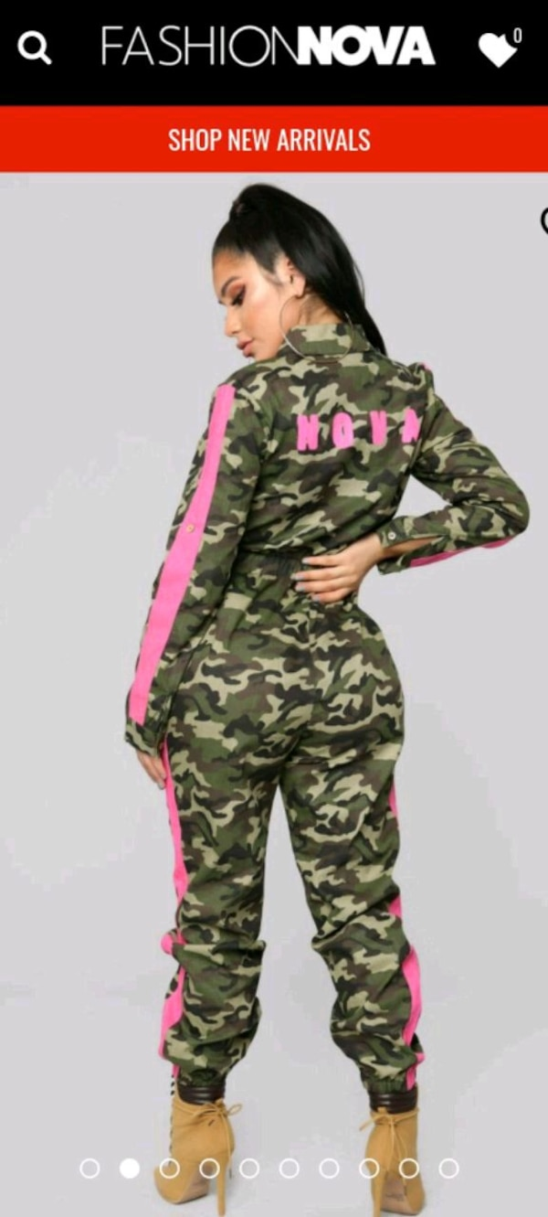 8ae858aff51 Used Fashion Nova Camo Jumpsuit for sale in Yonkers - letgo