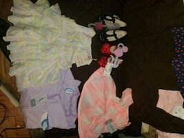 BABY GIRL CLOTHES...NEW BORN -FREE