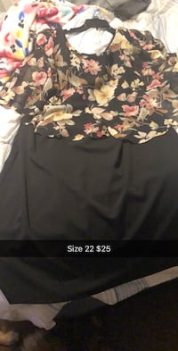 black and brown floral textile Tulsa, 74135