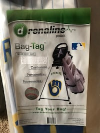 Brewers Golf Bag Tag!
