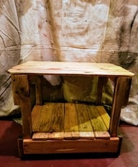 One end table made from pallets  Philadelphia, 19148