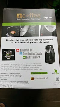 K cup coffee brewer maker