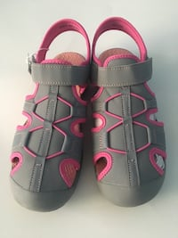 pair of gray-and-pink sandals Clarksburg, 20871