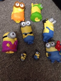 assorted-color plastic Minions toy lot Calgary, T3J 3A1