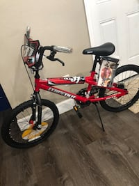 """NEW! 20"""" BMX Next Boys' Wipeout Red Bicycle Jacksonville, 32257"""