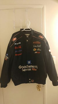 black goodwrench service plus button up jacket
