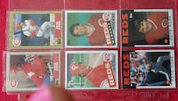 6 Pete Rose Baseball Cards