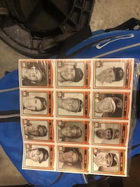 Unopened Orioles collectible cards from crown gas station  Bowie, 20720