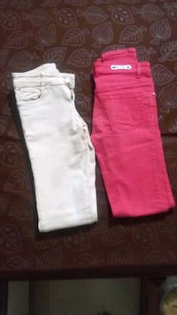 two white and red denim jeans Mumbai