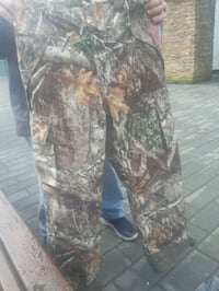 realtree camouflage insulated pants for women
