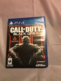 PS4 game: Call of Duty Black Ops III Billerica, 01821