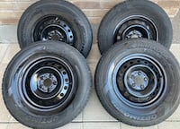 215/70/15 EXCELLENT CONDITION TIRES AND RIMS $$$400 Waterloo